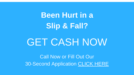Lawsuit Cash Advance-Slip and fall injury