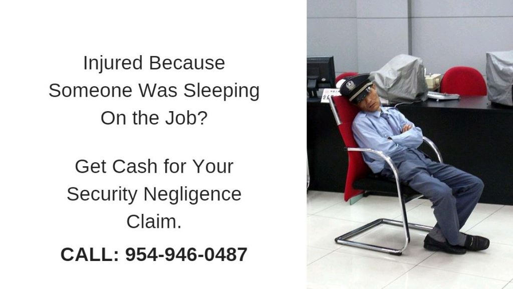 Lawsuit funding loans for security negligence